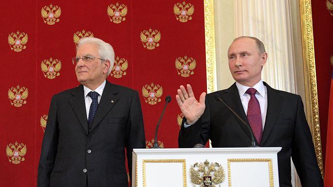 """Putin """"geduldig"""": Wir haben einen gemeinsamen Feind"""