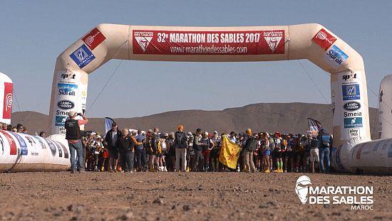 """Le """"marathon des Sables"""" s'élance dans le désert marocain [no comment]"""