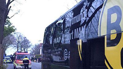 Explosions près du bus de l'équipe de Dortmund: un blessé (police)