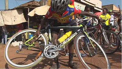 Kampala courier cycling service prepares riders for Olympics