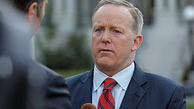 Trump spokesman Sean Spicer apologises over Hitler gaffe