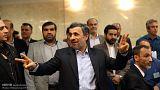 احمدی نژاد پس از ثبت نام: توصیه رهبری به ثبت نام نکردن بمعنای نهی نبود