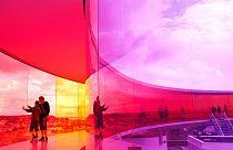 "In giro per Aarhus con il curatore del Museo ""ARoS"" Lise Pennington"