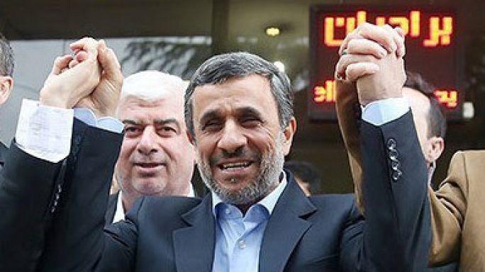 Defiant Mahmoud Ahmadinejad to run for Iran's presidential election