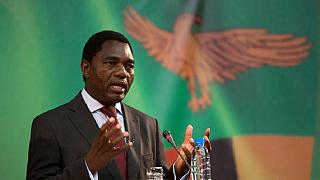 Zambian opposition chief gets treason charge for blocking presidential convoy
