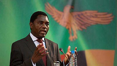 """En Zambie, le chef de l'opposition inculpé de """"trahison"""""""