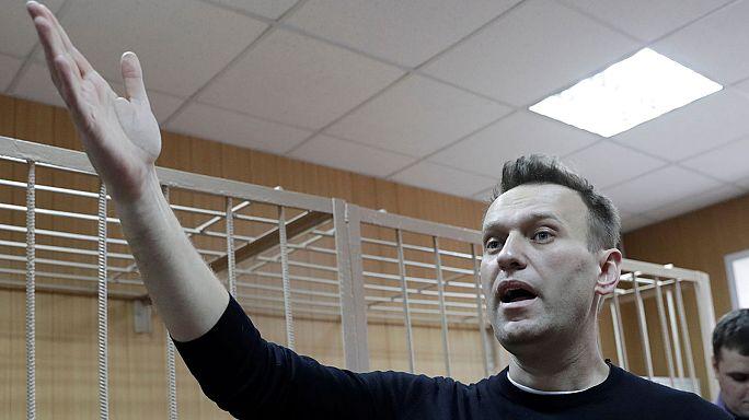 Navalny convoca manifestaciones contra Putin el día de la fiesta nacional