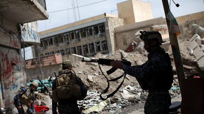 Fighting rages on in western Mosul