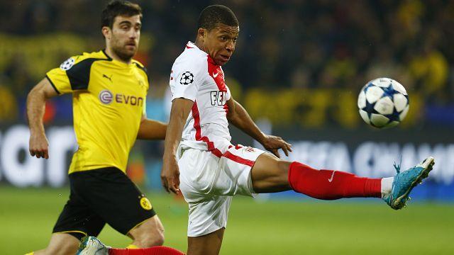 Ligue des champions : Monaco s'impose à Dortmund
