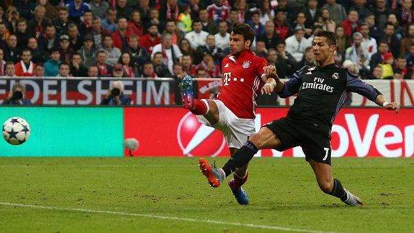 مرحله یک چهارم پایانی لیگ قهرمانان؛ برد رئال در مونیخ