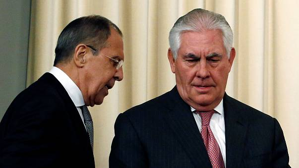 Лавров и Тиллерсон поговорили о Сирии