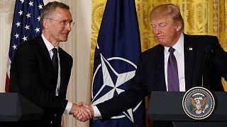 """""""Elle n'est plus obsolète"""": Donald Trump change d'avis sur l'OTAN"""