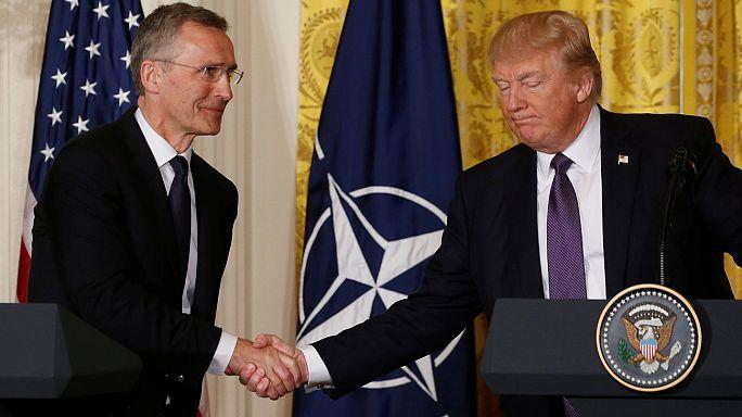 """Трамп больше не считает НАТО """"устаревшей"""" организацией"""