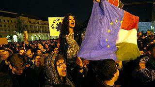 Protestas en Budapest contra el proyecto para regular a las ONGs financiadas desde el extranjero