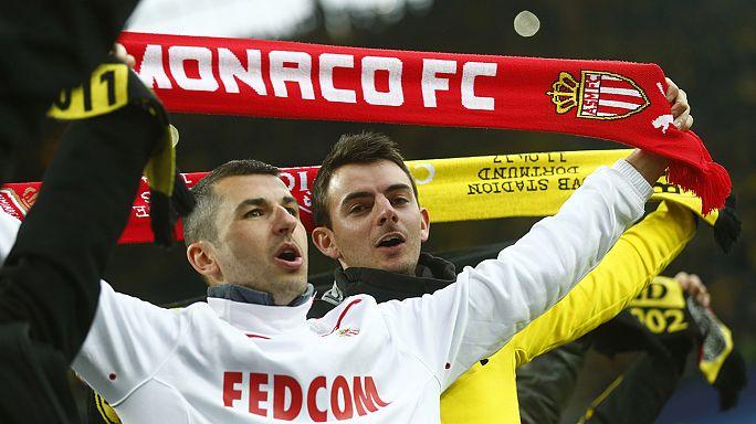 Dortmund ile Monaco taraftarları arasındaki dostluk gönülleri fethetti