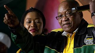 South Africa's Zuma not stressed by opposition protests