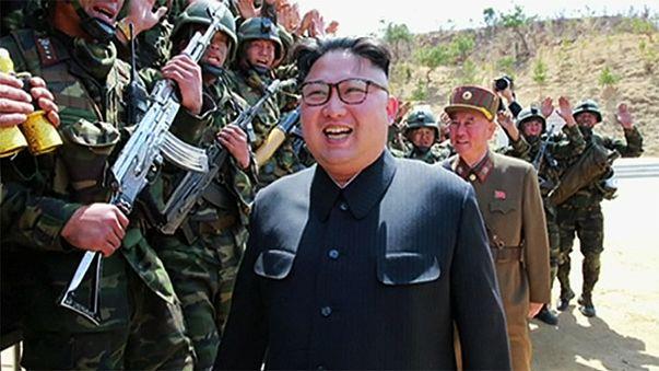"""Corea del Nord: Abe """"potrebbe usare il gas sarin"""", Kim assiste a esercitazione"""