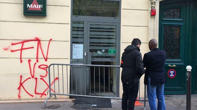 Fransa'da Marine Le Pen'in ofisine saldırı