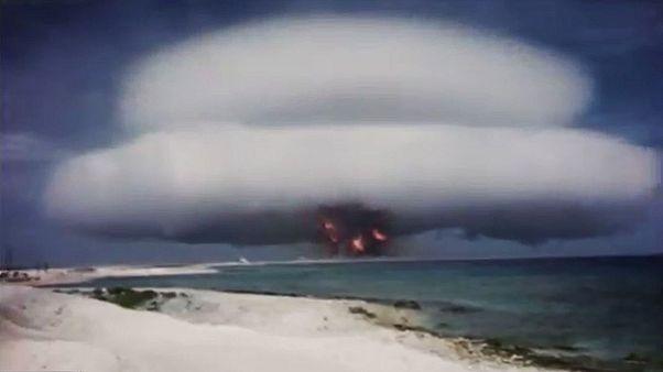 Les images d'archives des essais nucléaires américains rendues publiques