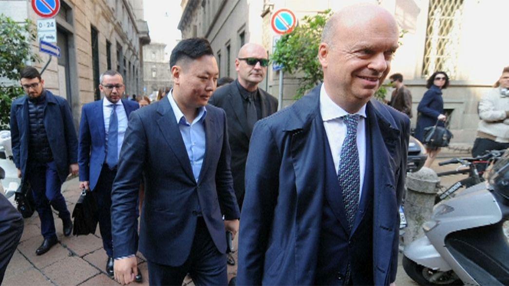 واگذاری باشگاه میلان ایتالیا به صاحبان چینی