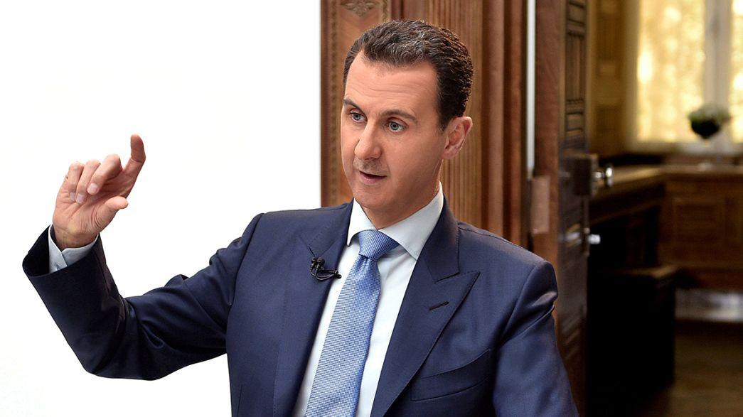 Aszad szerint a szaringáztámadás csak provokáció