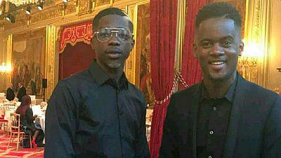 France : MHD et Black M ambiancent Alpha Condé et Ségolène Royal à l'Elysée