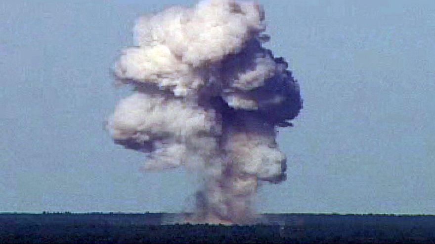 الولايات المتحدة تضرب كهوف تنظيم داعش في أفغانستان بأم القنابل