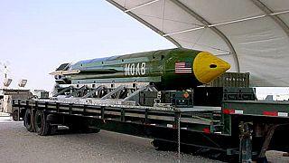 """أميركا تسقط """"أم القنابل"""" على كهوف داعش شرق أفغانستان"""