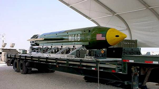 US drops 'mother of all bombs' on Afghanistan