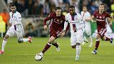 El Olympique de Lyon toma ventaja y el United no pasa de la igualada
