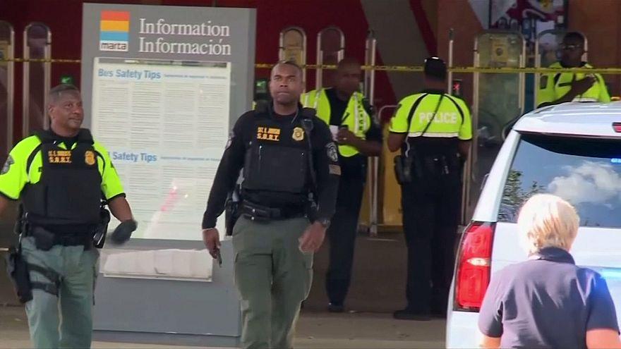 آمریکا؛ تیراندازی در ایستگاه قطار آتلانتا یک کشته و سه زخمی بر جای گذاشت