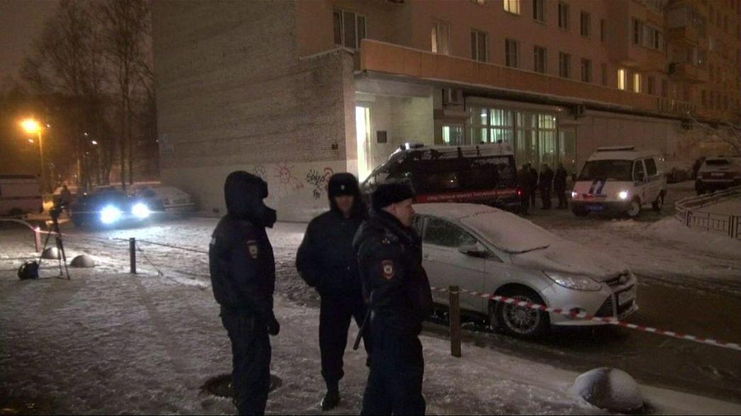 Emoi à Saint-Pétersbourg après une petite explosion dans le métro