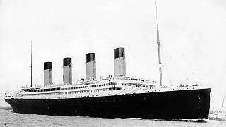 Tauchen zur Titanic