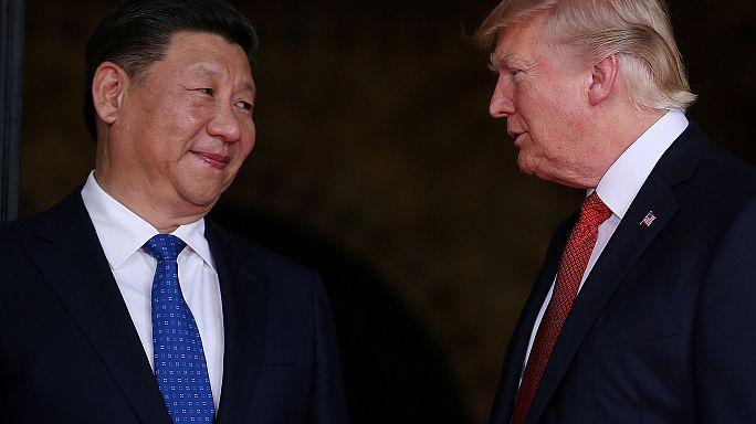 Las fotos de la semana... en la que Xi Jinping visitó a Donald Trump