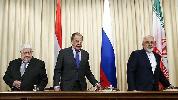 Russia, Iran, Syria denounce US 'act of aggression'