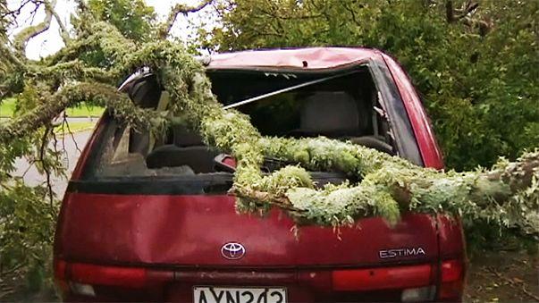 Kisebb pusztítást hagyott maga után a Cook-vihar Új-Zélandon