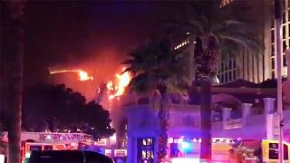 Fire breaks out at Bellagio hotel in Las Vegas