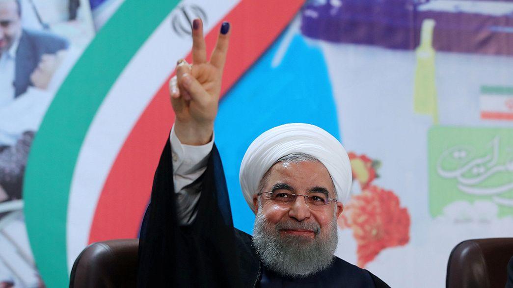 ثبت نام حسن روحانی برای نامزدی در انتخابات ریاست جمهوری ایران
