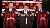 Objectif Ligue des champions pour le Milan chinois