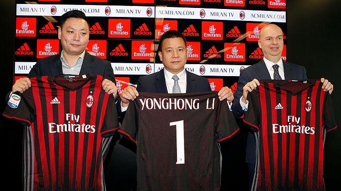 Novo Milan aponta à Liga dos Campeões