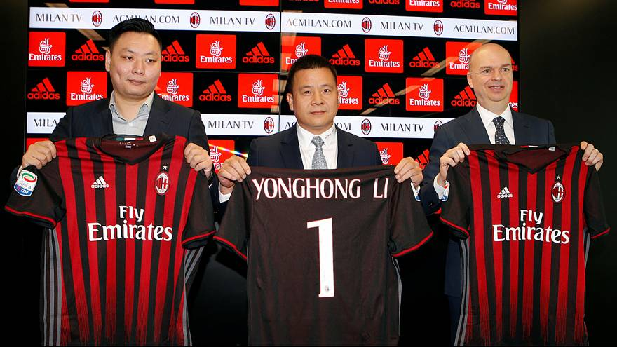 AC Milan seek rebirth with Chinese investment