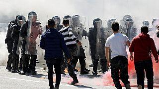 """Journée de colère d'étudiants tunisiens contre les """"violences policières"""""""