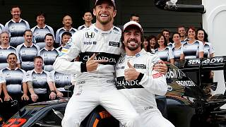 Monaco GP'de Alonso'nun yerine Jenson  Button yarışacak