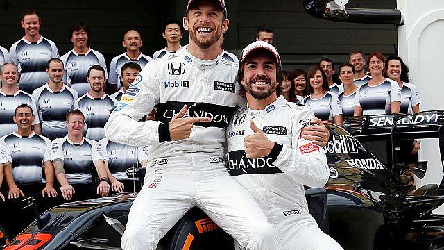 F1: Баттон заменит Алонсо на трассе в Монако
