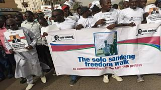 Gambians mark the beginning of the end of Jammeh's 22-year rule