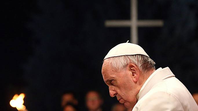 Good Friday: Pope leads 'Way of the Cross' service at Colosseum