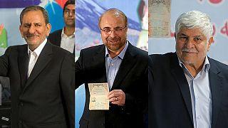 انتخابات ایران؛ جهانگیری، قالیباف و هاشمی در آخرین روز ثبتنام کردند