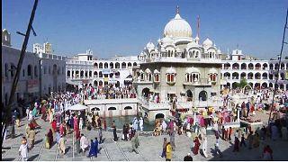 Sikhs feiern das Besakhi-Fest