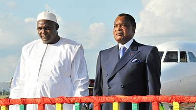 En visite au Congo-Brazzaville, Adama Barrow veut s'inspirer du président Denis Sassou N'Guesso