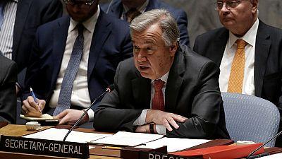 Libye : le chef de l'ONU s'inquiète d'une généralisation du conflit